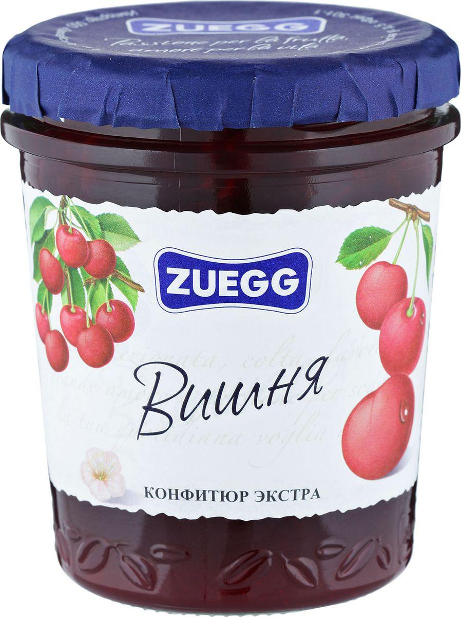 Zuegg Вишня конфитюр, 320 гP0053922Конфитюр приготовлен с натуральной вишней. Вишневый вкус - один из любимых вкусов. Полностью натуральный, этот продукт на все 100% полезный. Содержание на 100 г: фрукты 50 г, сахар 46 г.