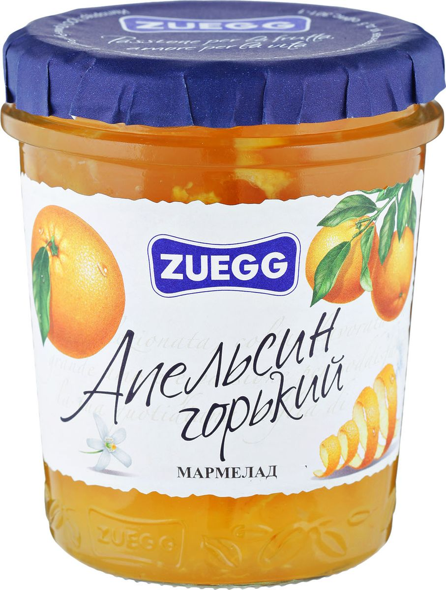 Zuegg Апельсин горький фруктовый десерт 330 гP0053927Содержание на 100 г: фрукты 30 г, сахар 55 г