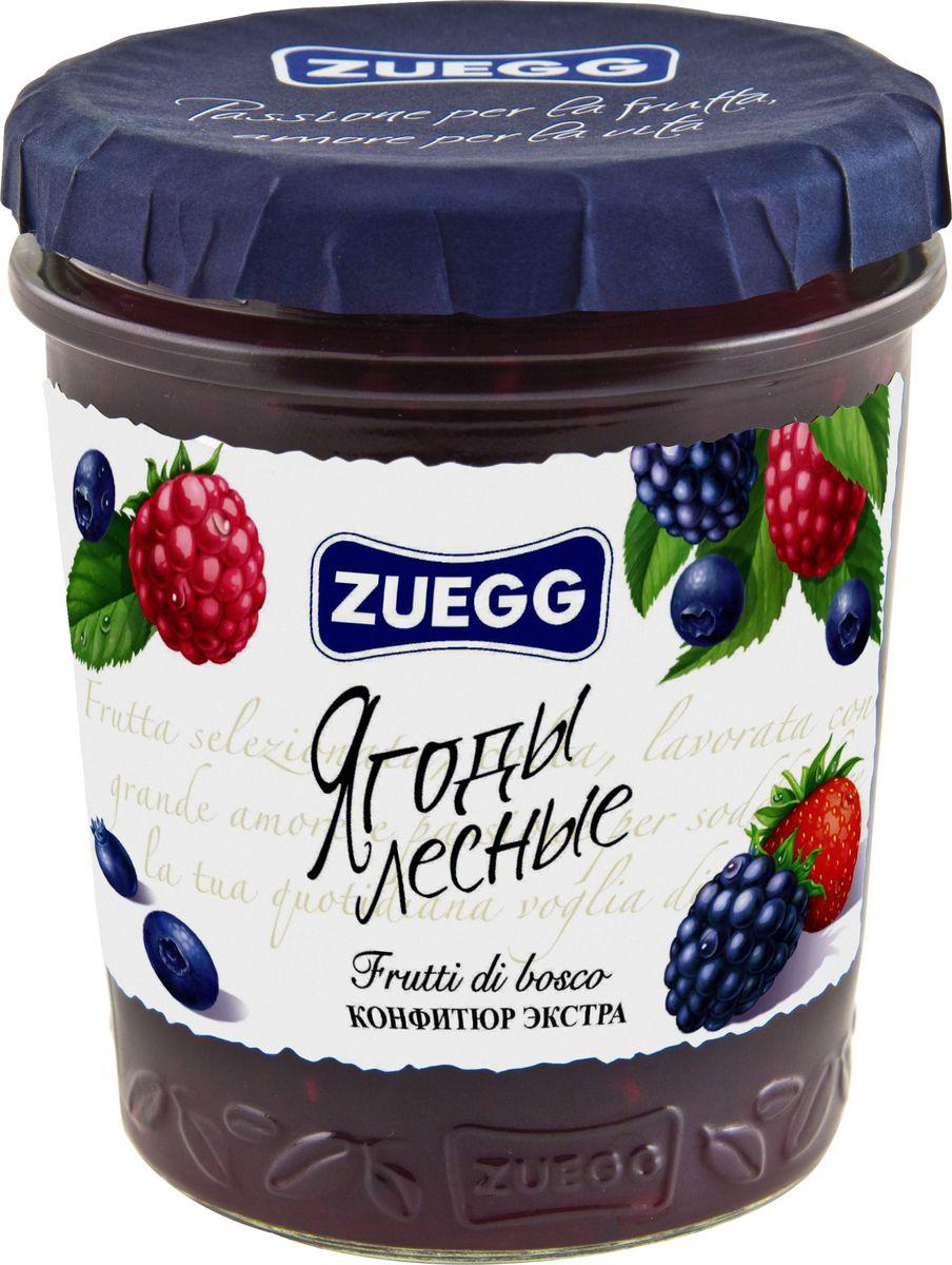 Zuegg Лесные ягоды конфитюр, 320 гP0053930Содержание на 100 г: фрукты 50 г, сахар 46 г