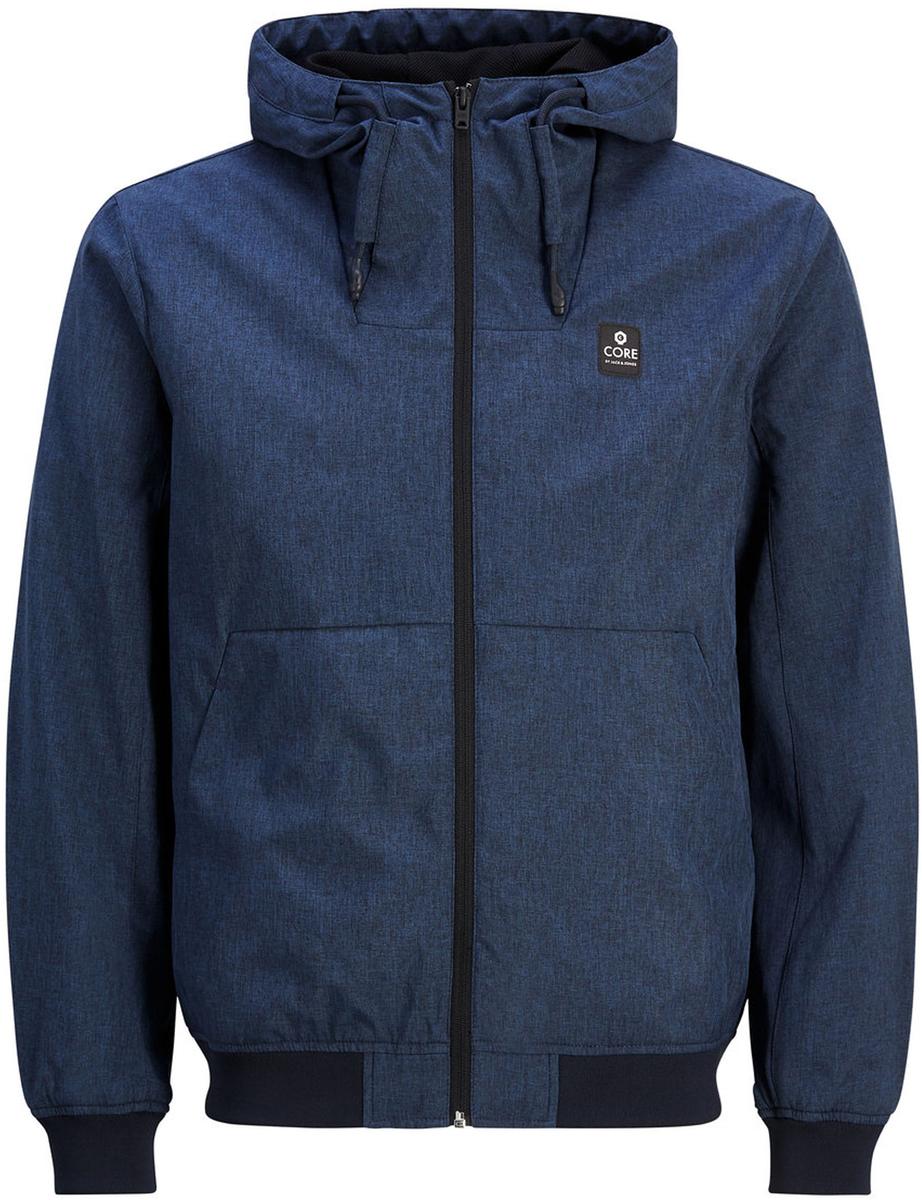 Ветровка муж Jack & Jones, цвет: синий. 12122147_Navy Blazer. Размер L (48/50)12122147_Navy Blazer