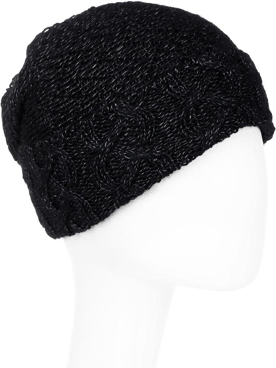 Шапка женская Marhatter, цвет: черный. Размер 56/58. MWH6840/2MWH6840/2Отличная шапка с отворотом, выполнена из высококачественного материала. Модель очень актуальна для тех, кто ценит комфорт, стиль и красоту.