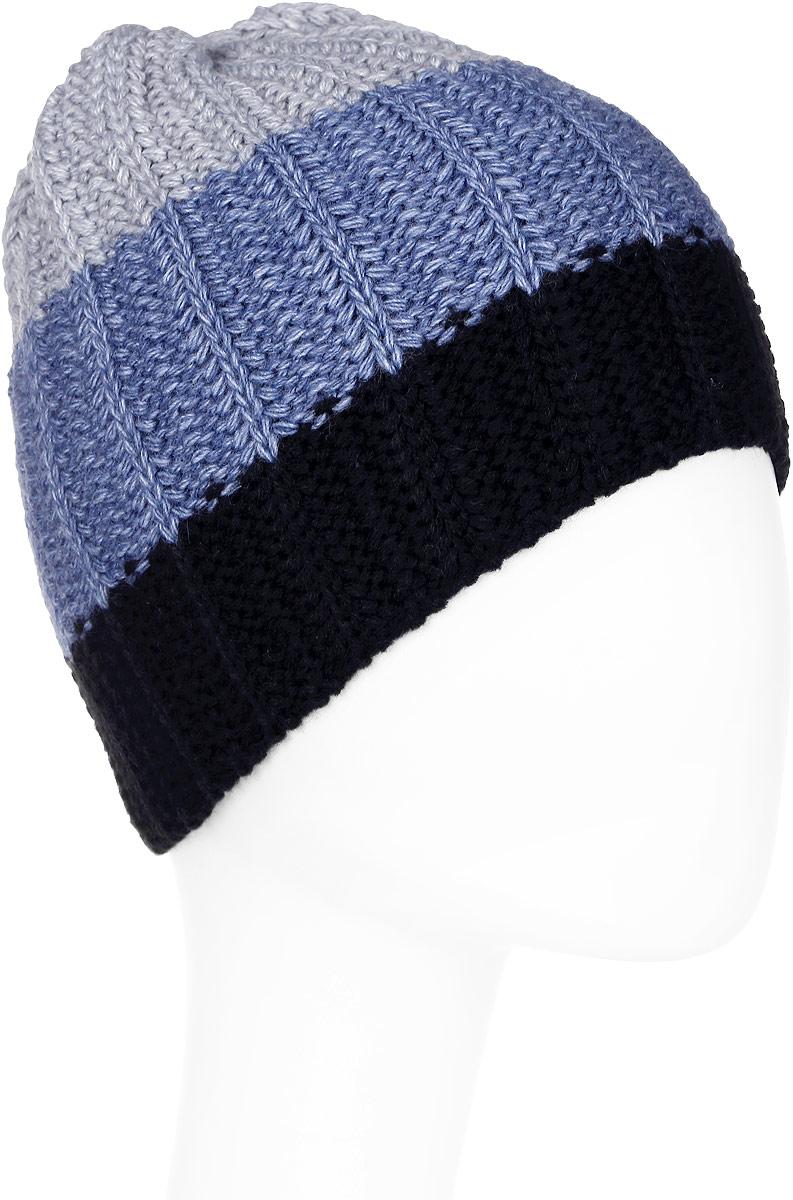 Шапка мужская Elfrio, цвет: черный. Размер 57/59. RMH6120/1RMH6120/1Отличная шапка с модным дизайном, выполнена из комфортного материала. Данная модель мягкая и комфортная на ощупь, отличный вариант на каждый день.