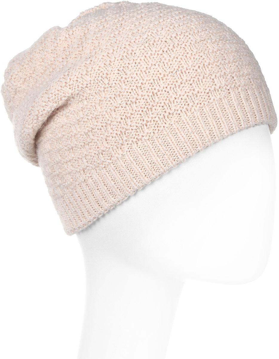Шапка женская Snezhna, цвет: светло-бежевый. SWH6775/3. Размер 56/58SWH6775/3Отличная шапка-колпак Snezhna добавит уникальность вашему образу. Данная модель мягкая и комфортная на ощупь. Модель на флисе.Уважаемые клиенты!Размер, доступный для заказа, является обхватом головы.