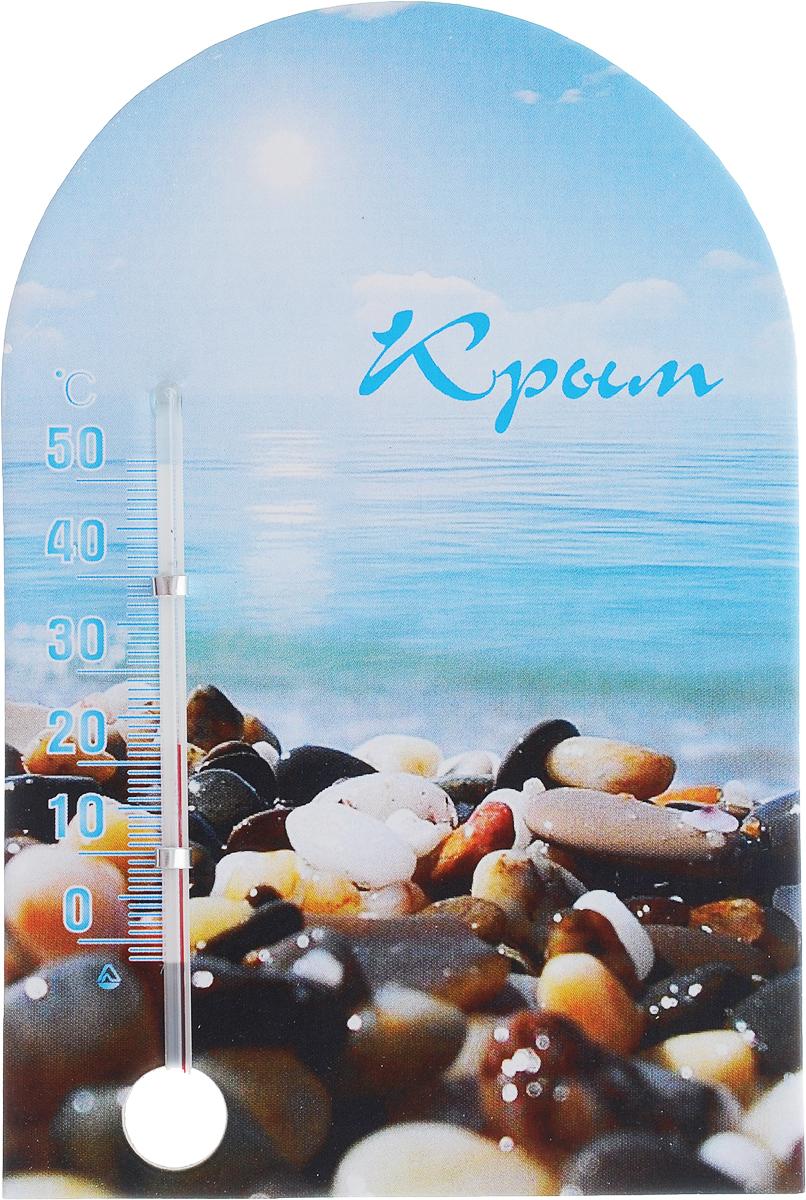 Термометр комнатный Стеклоприбор Крым, на магните. 300250_камни/вода300250_камни/водаТермометр комнатный Стеклоприбор Крым применяется для измерения температуры воздуха в помещении. Термометр выполнен из картона, оформлен красочным изображением и надписью Крым.Термометр оснащен шкалой с ценой деления 1°С и имеет широкий рабочий диапазон - от 2 до +52°С.Изделие крепится с помощью магнита. Не содержит ртути. Благодаря яркому дизайну такой термометр идеально подойдет в качестве памятного сувенира. Для хорошего самочувствия и здоровья идеальный микроклимат в доме создаст температура +18…+24°С.