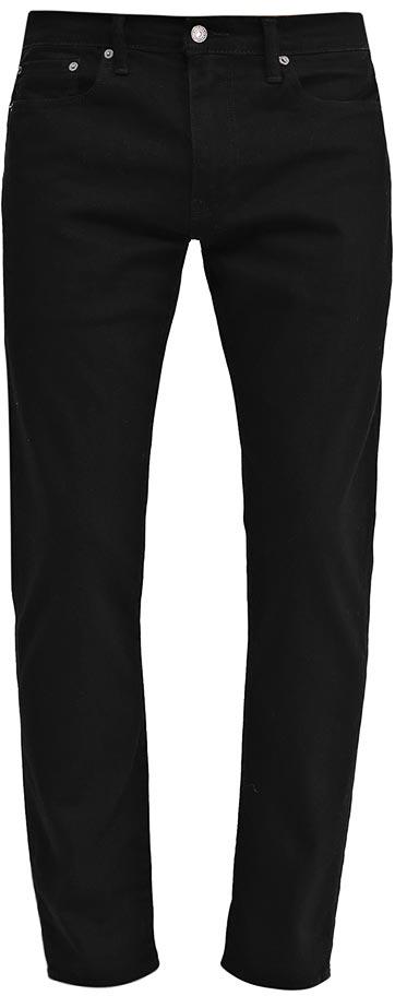 Джинсы мужские Levis®, цвет: черный. 2950700310. Размер 36-32 (52-32)2950700310Классическая зауженная модель на каждый день. Зауженные книзу джинсы имеют более свободную посадку в бедрах и слегка зауженные штанины, что помогает создать модный повседневный образ. Вес ткани 10,82 унций.
