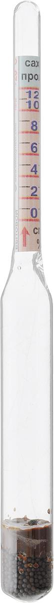 Виномер бытовый Стеклоприбор. 300432300432Виномер бытовойСтеклоприбор применяется для измерения и определения концентрацииспирта в некрепленых винах и процентного содержания сахара в фруктовых соках, сиропах вбытовых условиях. Диапазон измерения: 0...12°С; сахар 0-25%. Цена деления шкалы: 1°С.
