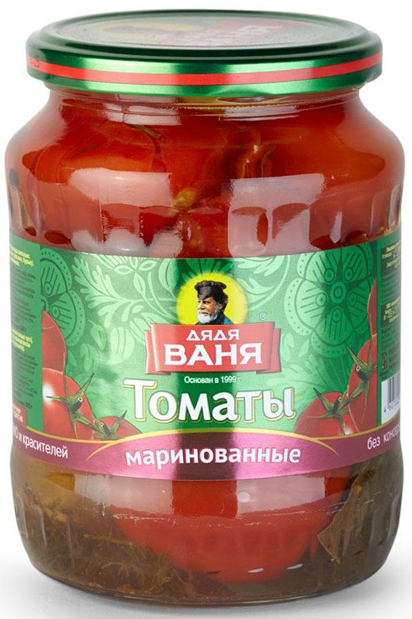 Дядя Ваня томаты маринованные, 680 г огородников томаты маринованные 680 г