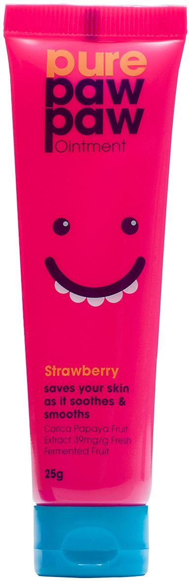 Pure Paw Paw бальзам с ароматом клубники, 25 г paw paw футболка paw paw с 2252 белый розовый