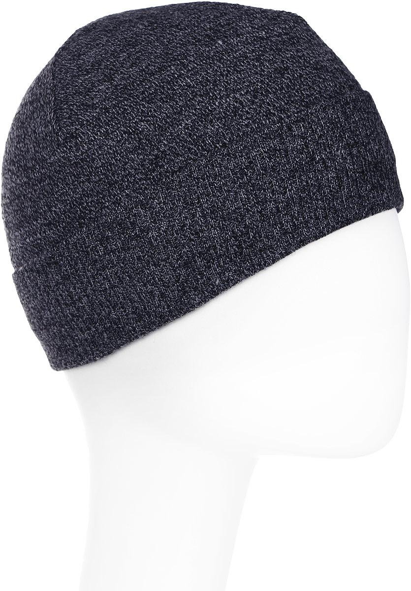 Шапка мужская Marhatter, цвет: черный, белый. Размер 57/59. MMH4877/2MMH4877/2Стильная теплая шапка на полном флисе, выполненная из высококачественных материалов, станет для вас незаменимой вещью. Будет хорошо смотреться не только со спортивной одеждой, но и с повседневной.