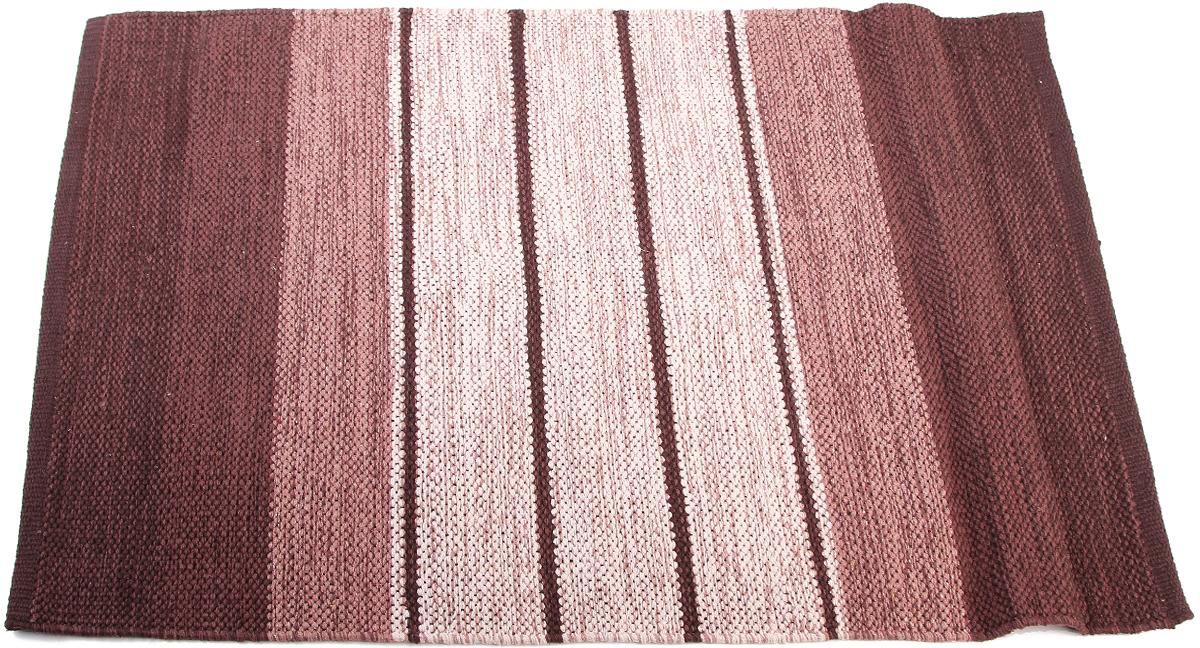 Коврик прикроватный Arloni, самотканный, цвет: бордовый, 60 х 90 см. 102/4/1ARL102/4/1ARLПрикроватный коврик Arloni выполнен из 100% хлопка и декорирован принтом в полоску. Коврик долго прослужит в вашем доме, добавляя тепло и уют, а также внесет неповторимый колорит в интерьер любой комнаты.