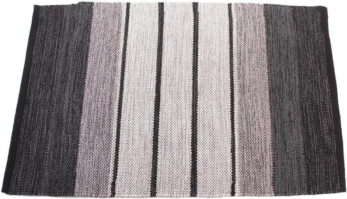 """Прикроватный коврик """"Arloni"""" выполнен из 100% хлопка и декорирован принтом """"в полоску"""". Коврик долго прослужит в вашем доме, добавляя тепло и уют, а также внесет неповторимый колорит в интерьер любой комнаты."""
