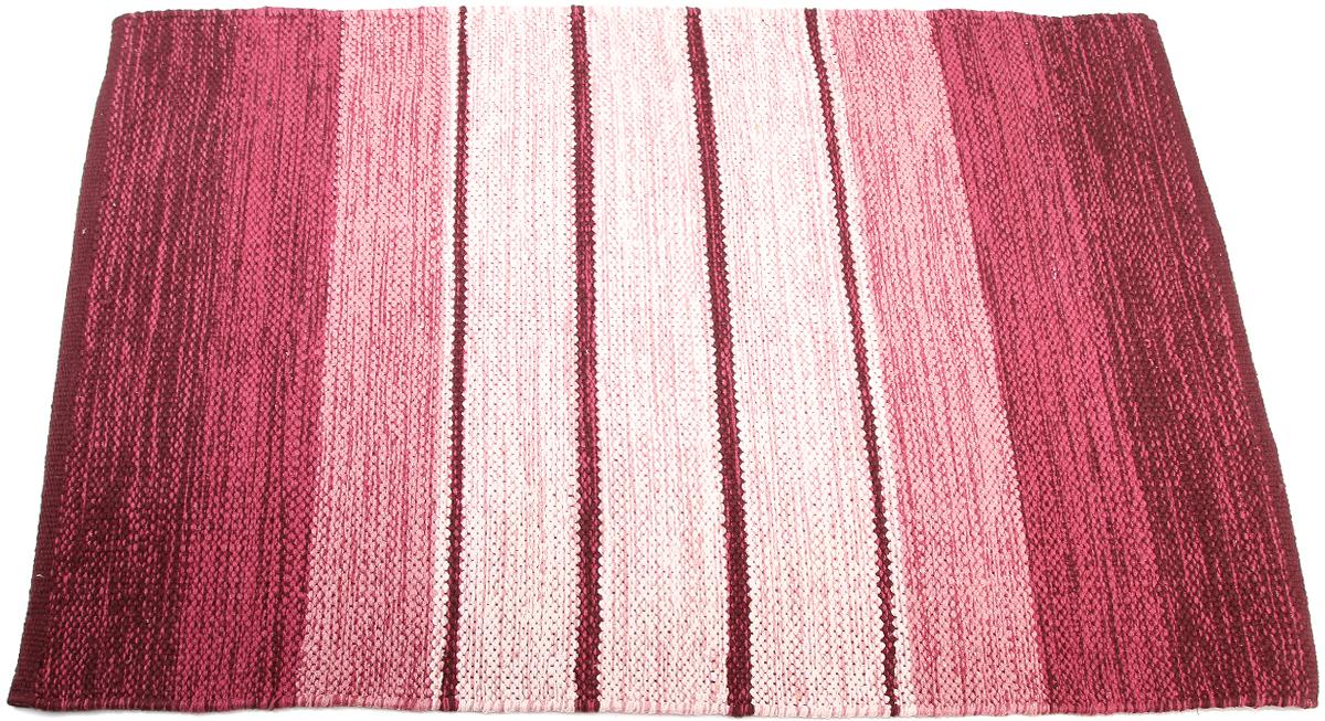 Коврик прикроватный Arloni, самотканный, цвет: красный, 60 х 90 см. 102/6/1ARL102/6/1ARLПрикроватный коврик Arloni выполнен из 100% хлопка и декорирован принтом в полоску. Коврик долго прослужит в вашем доме, добавляя тепло и уют, а также внесет неповторимый колорит в интерьер любой комнаты.