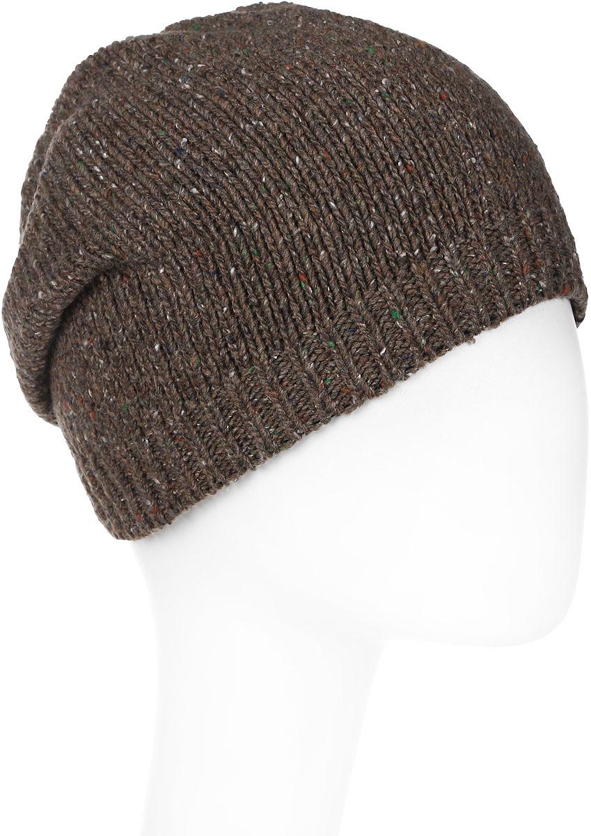Шапка женская Marhatter, цвет: светло-коричневый. MWH7182/2. Размер 56/58MWH7182/2Стильная шапка-колпак, выполнена из высококачественной пряжи. Модель очень актуальна для тех, кто ценит комфорт, стиль и красоту. Отличный вариант на каждый день.