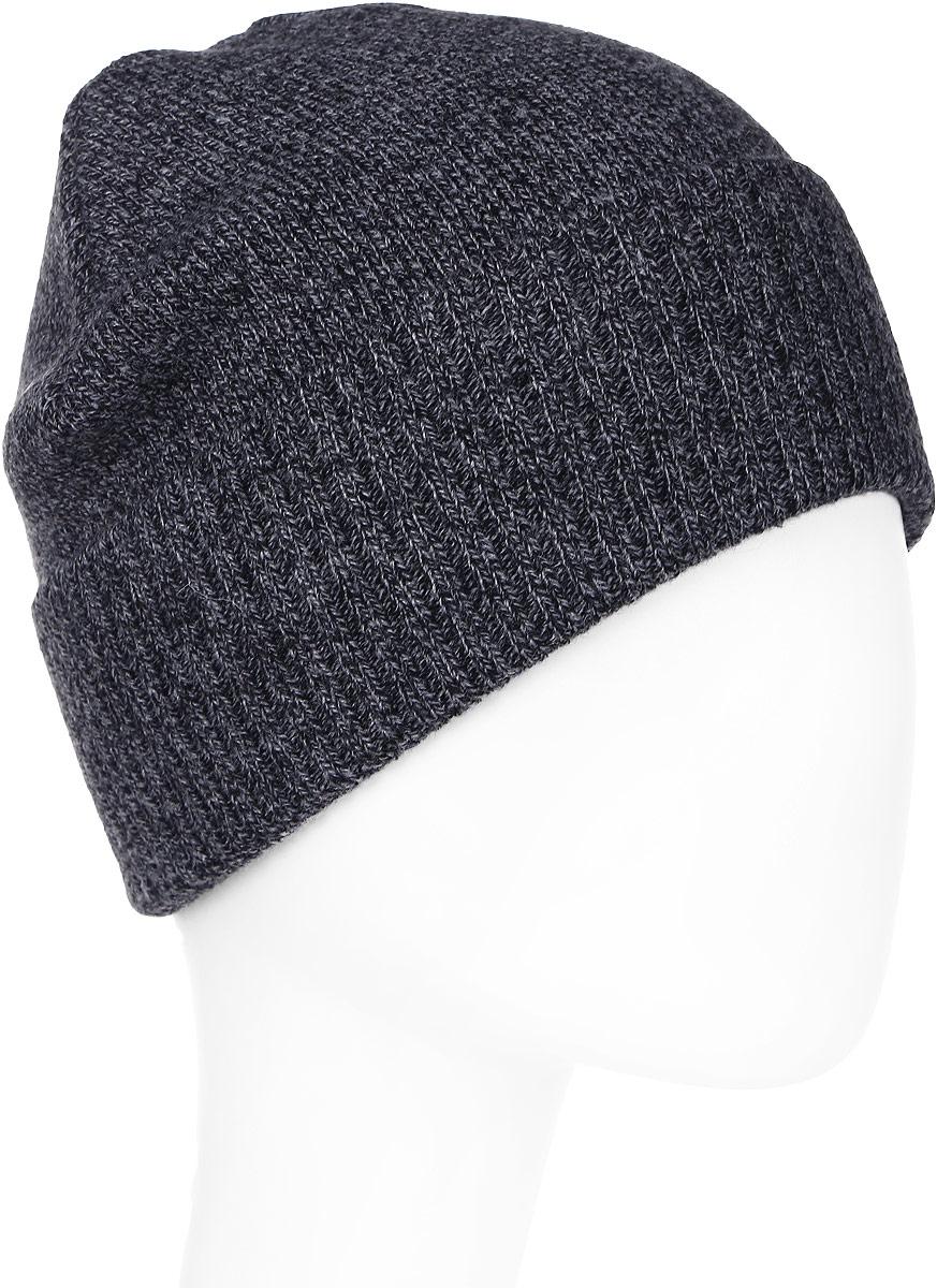 Шапка мужская Marhatter, цвет: черный, серый. Размер 57/59. MYH7746MYH7746Отличная шапка с модным дизайном, выполнена из комфортного материала. Данная модель мягкая и комфортная на ощупь, отличный вариант на каждый день.