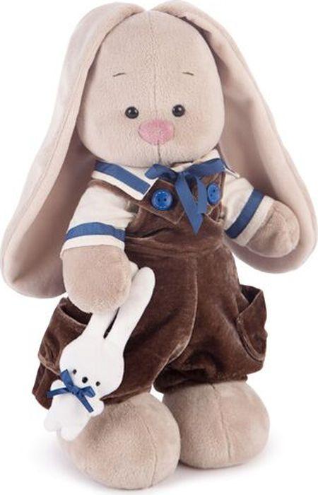Мягкая игрушка Зайка Ми Бархатный шоколад 32 см зайка ми калина