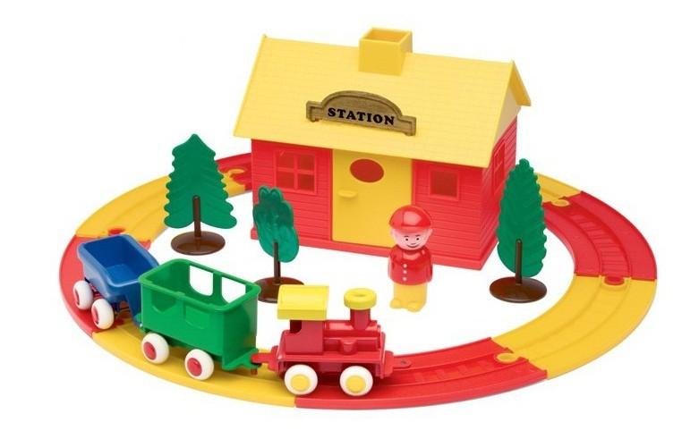 Viking Toys Игровой набор Железнодорожная станция - Игровые наборы