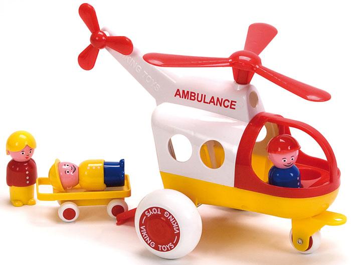 Viking Toys Вертолет Скорая помощь Джамбо 30 см viking toys пожарная машина джамбо 28 см