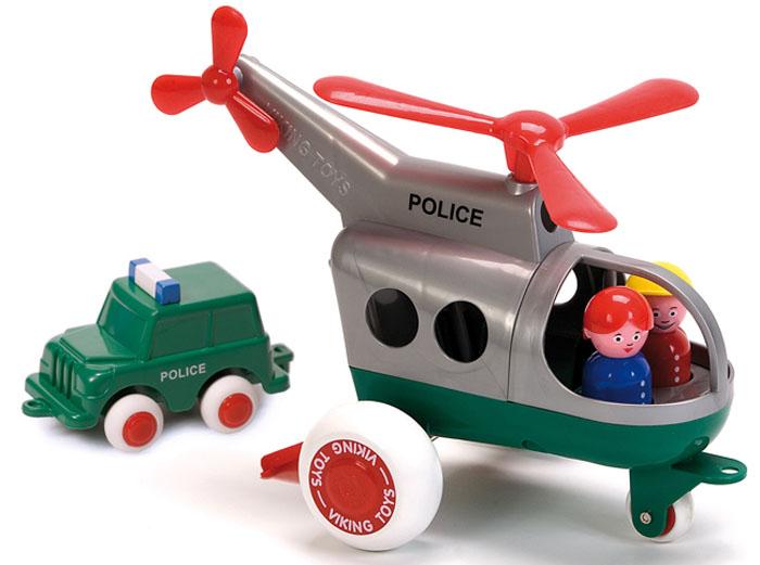 Viking Toys Вертолет Полиция Джамбо 30 см - Игровые наборы
