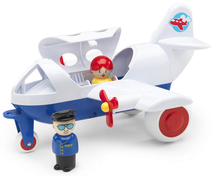 Viking Toys Самолет авиалиний Viking 30 см viking toys пожарная машина джамбо 28 см