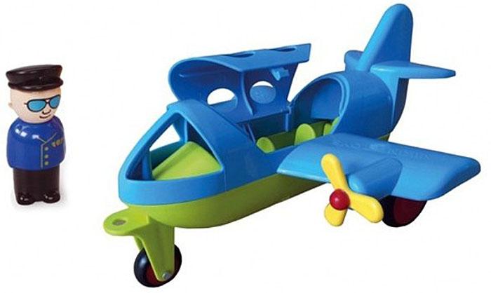 Viking Toys Самолет Джамбо цвет синий зеленый - Игровые наборы