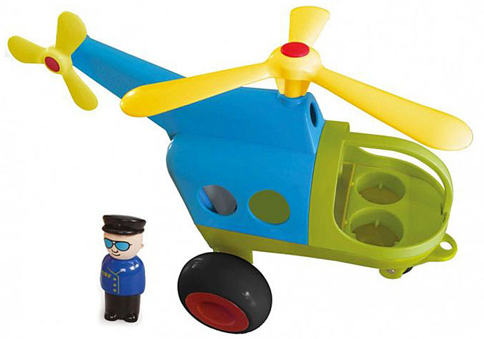 Viking Toys Вертолет Джамбо 30 см viking toys пожарная машина джамбо 28 см