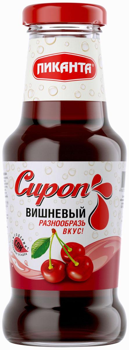 Пиканта сироп вишневый, 300 г4607004650604
