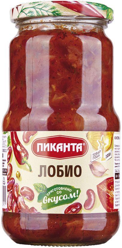 Пиканта лобио, 530 г4607036205391Лобио - блюдо грузинской кухни и переводится как фасоль. Это блюдо - готовый к употреблению вкусный и полезный гарнир, визитная карточка грузинского застолья, традиционная закуска, которую в одних семьях принято подавать к столу горячей, в других - холодной. Блюдо из лобио популярно у закавказских народов и часто подаётся с лавашом.Одна порция лобио не только насытит вас, но и обеспечит на целый день комплексом веществ, необходимых организму. Блюдо не способствует накоплению жировых отложений. Употребление блюд из фасоли также способствует снижению уровня сахара в крови.