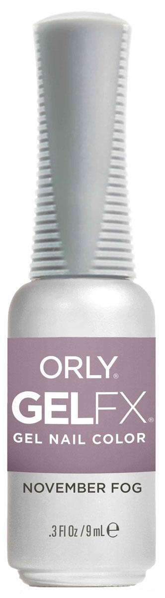 Orly Гель-лак для ногтей Gel Fx Velvet Dream 939 November Fog, 9 мл30939Профессиональная система гель-маникюра GELFX содержит витамины A, Е и В5, исключает возникновение проблем с ногтями, обладает свойством выравнивания ногтей, и главное, дарит невероятно стойкий маникюр на целых две недели. Палитра с рейтинговыми оттенками ORLY позволяет с легкостью подобрать нужный цвет к новому образу.