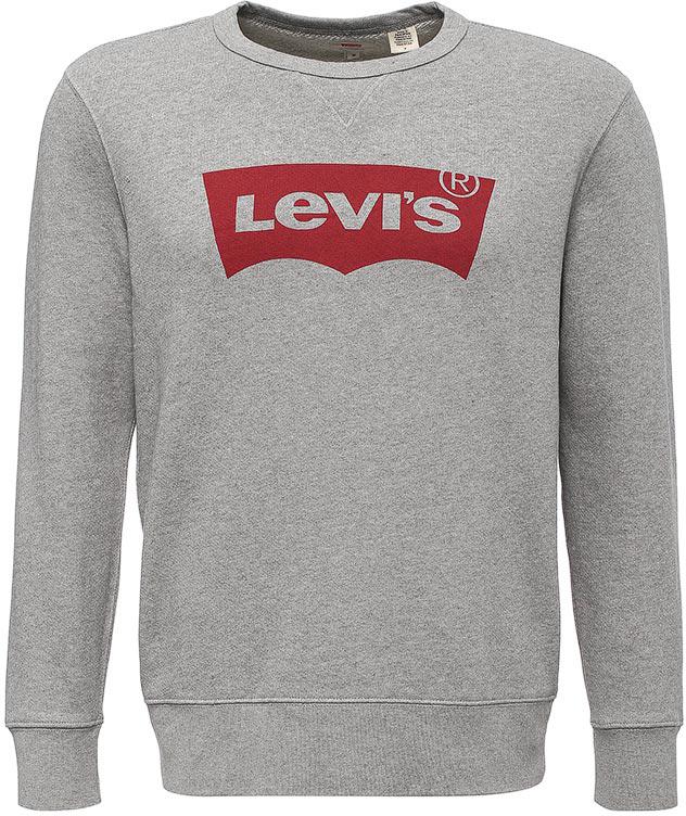 Свитшот мужской Levi's®, цвет: серый. 1789500300. Размер XL (48/50) бриджи антицеллюлитные женские lanaform mass & slim tourmaline цвет серый la0129044e размер xl 48 50