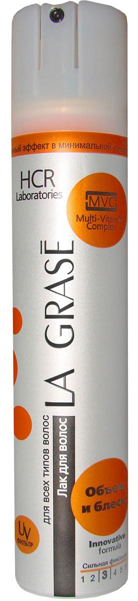 La Grase лак для волос объем и блеск, 75 мл8808