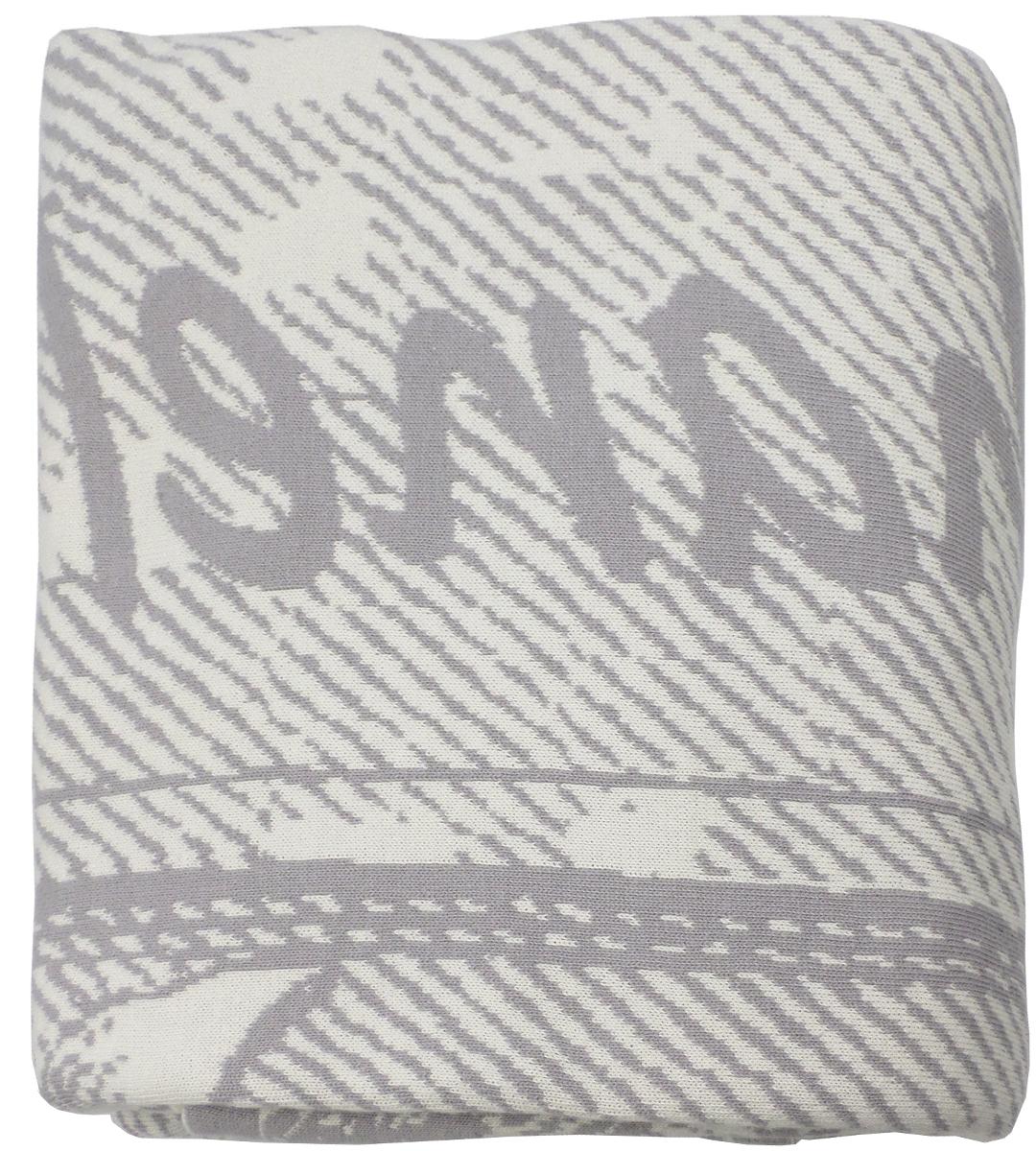 Плед Arloni Париж, цвет: светло-серый, 140 х 190 смPL005-3ARL