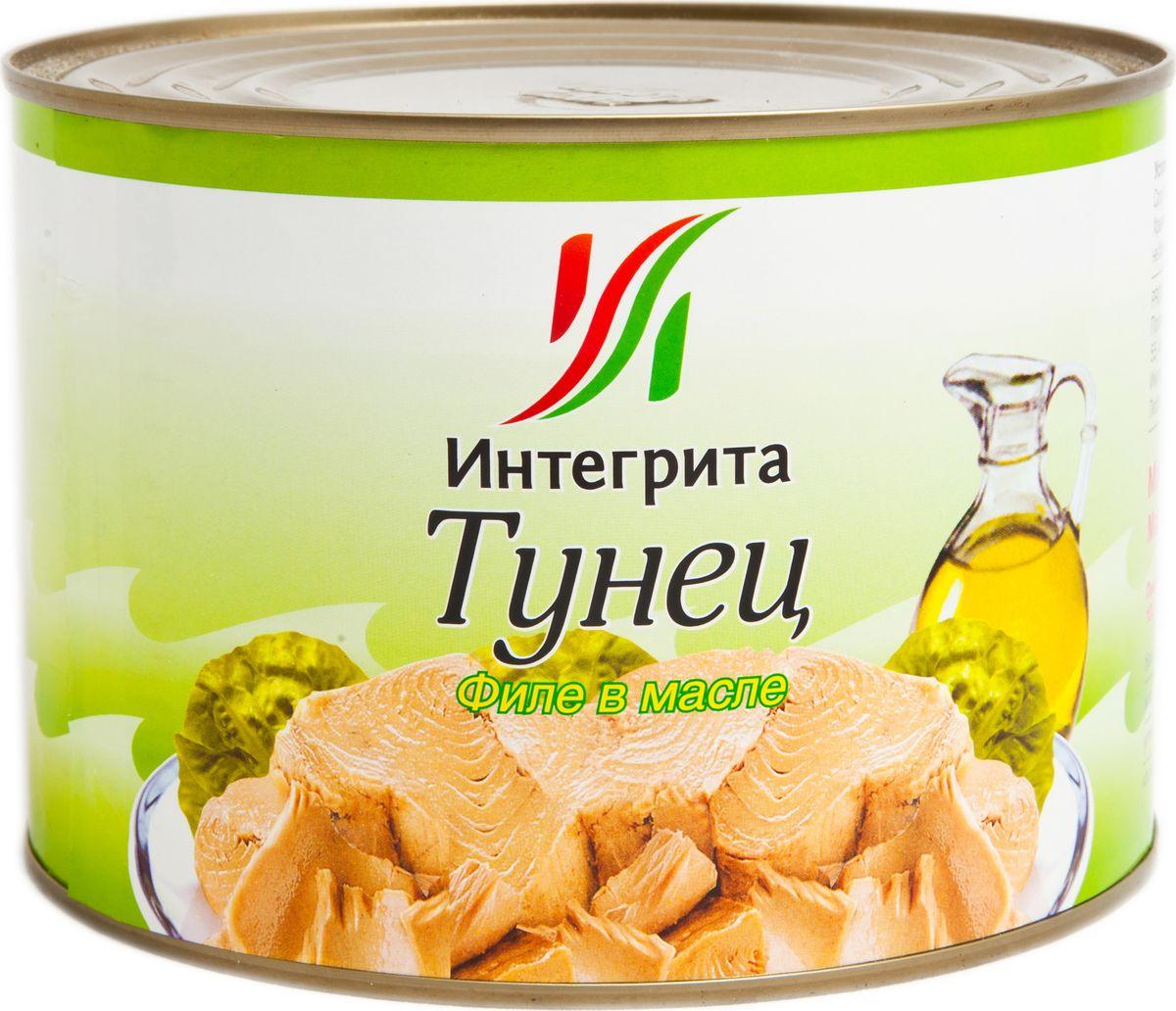 Integrita тунец филе в масле, 1,7 кгМС-00001025Приготовлен из мяса молодого тунца. Отличается нежным цветом и приятным вкусом. Идеален для приготовления салатов, закусок, горячих бутербродов и других вкусных блюд.