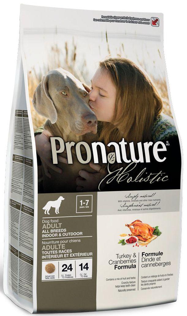 Корм сухой Pronature Holistic, для собак, индейка с клюквой, 6,8 кг102.2004aСухой корм для собак Pronature Holistic поможет вам подарить вашей собаке самую вкусную и питательную пищу! Ей обязательно понравится мягкий вкус всех ингредиентов, которые были тщательно отобраны, чтобы удовлетворить все основные потребности в питании. Корм предназначен для взрослых собак всех пород от 1 до 7 лет.Ингредиенты:Свежая индейка (19%), сушеное мясо курицы, коричневый рис, сушеный картофель, перловая крупа, овсяная крупа, сушеная клюква (7%), мука из лосося (источник докозагексаеновой кислоты), рис, куриный жир, смесь фруктов (3%, сушеные яблоки, сушеная черника, сушеный ананас), сушеная мякоть свеклы, сушеные выжимки из помидоров, пшено, яичный порошок, рисовые отруби, порошок целлюлозы (2%), натуральный ароматизатор куриный, целое семян льна (источник омега -3 жирных кислот), соль, кальция карбонат, сухие дрожжи (источник маннан-олигосахариды), сушеный корень цикория (источник фрукто-олигосахаридов), панцирь креветок и крабов (источник глюкозамина), сушеная юкка (Yucca schidigera), новозеландские зеленые мидии (источник гликозаминогликанов гаг), трепанги (источник хондроитина), имбирь, киноа, семена аниса, сушеные бурые водоросли, сушеная люцерна, сушеный японский зеленый чай, смесь пряностей (0,02%, сушеный розмарин, сушеная петрушка, сушеное листья мяты, куркума, сушеный тимьян, корица, сушеный шпинат, сушеная брокколи, сушеная цветная капуста. В качестве антиоксидантов использованы богатые на токоферол экстракты природного происхождения (витамин E).протеин- 24,6 %жир- 14,5 %клетчатка- 4,2 %зола- 7,0 %таурин- 0,1 %кальций- 1,1 %фосфор- 0,8 %медь (сульфат меди)- 25 мг/кгвитамин А- 33600 МЕ/кгвитамин D- 3100 МЕ/кгвитамин Е- 190 МЕ/кг