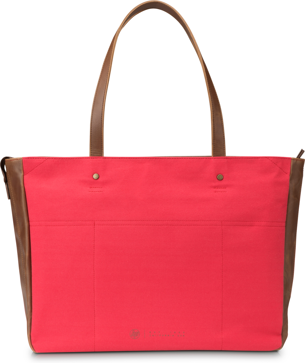 HP Women Canvas Tote сумка для ноутбука 14, Red (V1M57AA) 2016 new retro fashion matte frame glasses brand men woemn designer oculos de sol cute round sunglasses n65