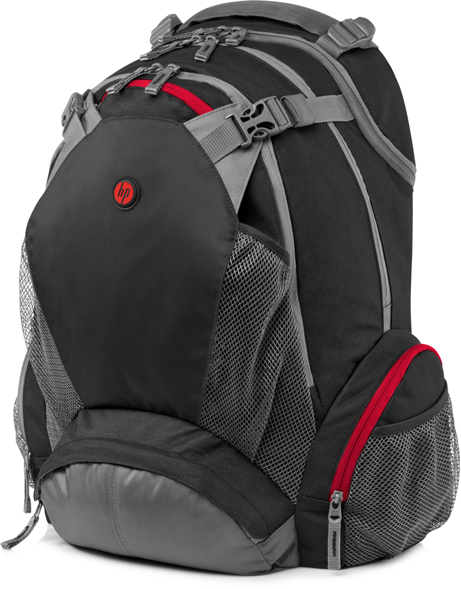 HP рюкзак для ноутбуков 17.3, Black (F8T76AA)1000316563