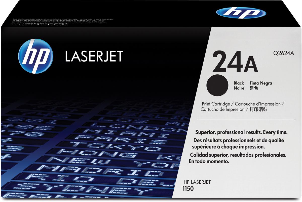 HP Q2624A, Black тонер-картридж для LaserJet 1150Q2624A