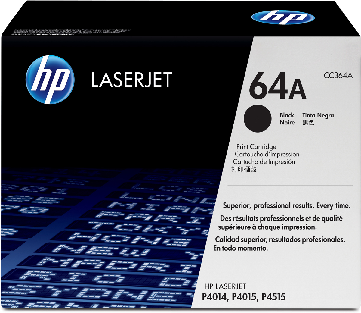 HP CC364A, Black тонер-картридж для LaserJet P4014/4015/4515CC364A