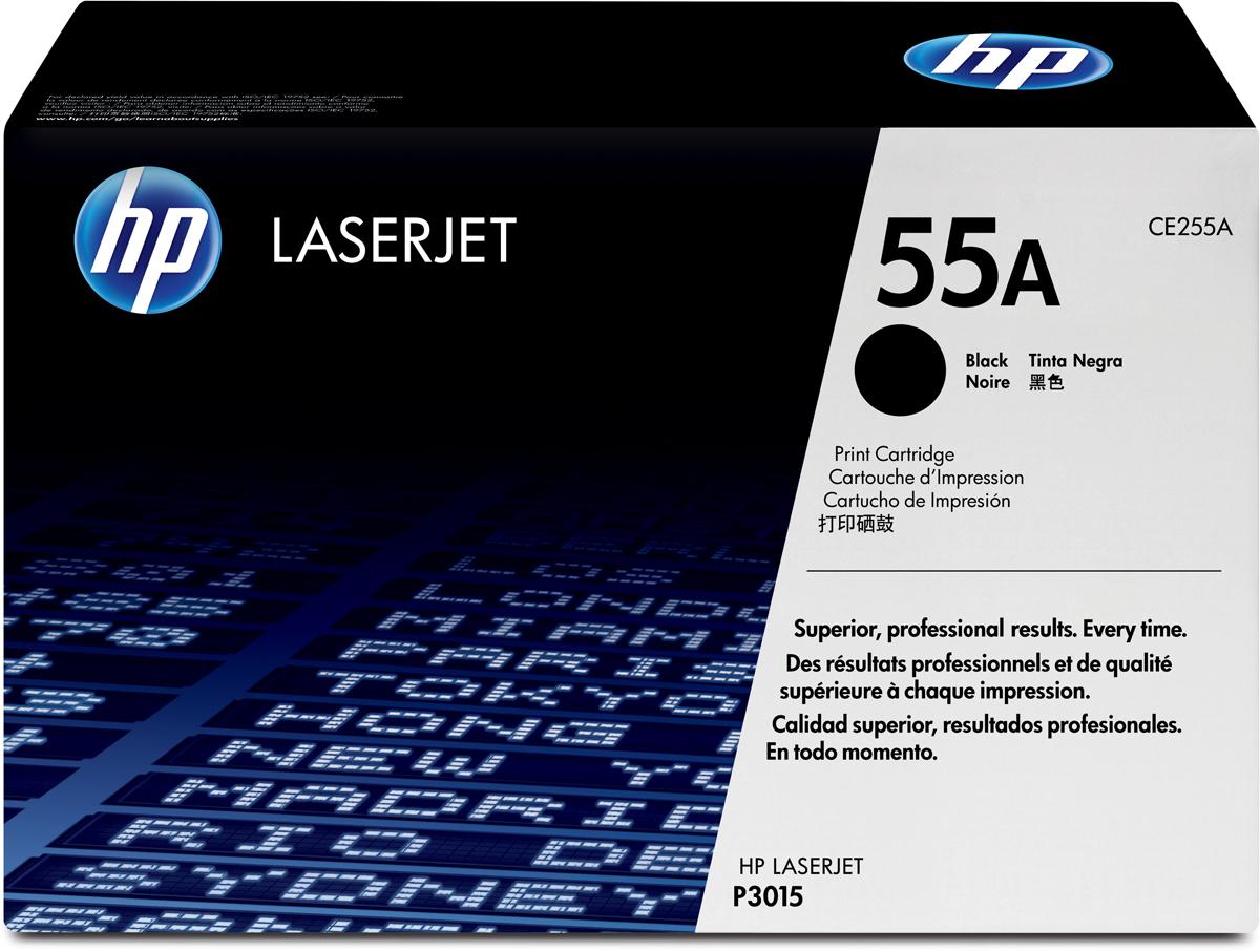 HP CE255A, Black тонер-картридж для LaserJet Enterprise P3015/P3015d/P3015dn/P3015xCE255A