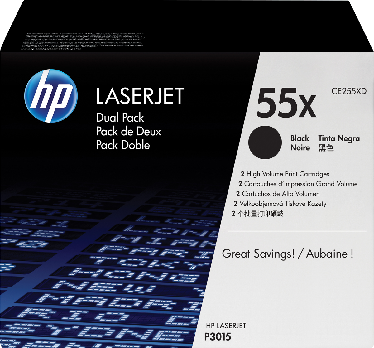 HP CE255XD, Black тонер-картридж для LaserJet Enterprise P3015/P3015d/P3015dn/P3015x manage enterprise knowledge systematically