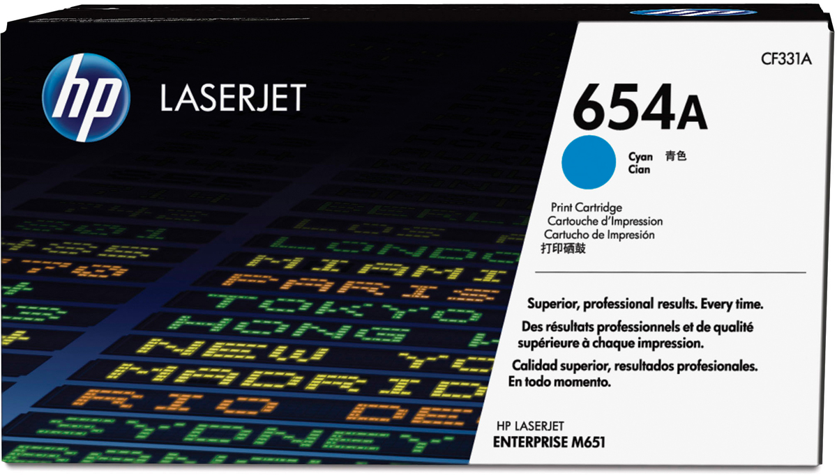 HP CF331A, Cyan тонер-картридж для LaserJet Enterprise Color MFP M680dn/M651nCF331A