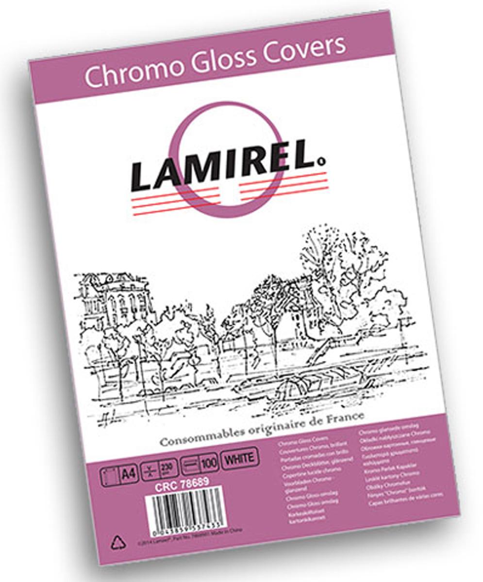 Lamirel Chromolux A4, White обложка для переплета (100 шт)LA-78689Глянцевая обложка Lamirel предназначена для переплета документов формата А4 на пластиковую или металлическую пружину. Обложка изготовлена из плотного износостойкого картона, что обеспечивает надежную защиту документа от потертостей и механических повреждений. Глянцевая текстура придает брошюре строгий и презентабельный вид. Идеально подходит как для титульного листа, так и в качестве подложки.Глянцевые обложки Lamirel поставляется в упаковке по 100 шт. с фирменным цветным вкладышем.