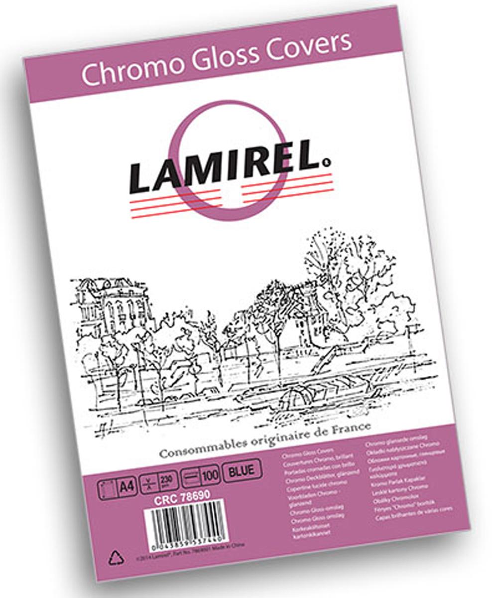Lamirel Chromolux A4, Blue обложка для переплета (100 шт)LA-78690Глянцевая обложка Lamirel предназначена для переплета документов формата А4 на пластиковую или металлическую пружину. Обложка изготовлена из плотного износостойкого картона, что обеспечивает надежную защиту документа от потертостей и механических повреждений. Глянцевая текстура придает брошюре строгий и презентабельный вид.Идеально подходит как для титульного листа, так и в качестве подложки. Глянцевые обложки Lamirel поставляется в упаковке по 100 шт. с фирменным цветным вкладышем.