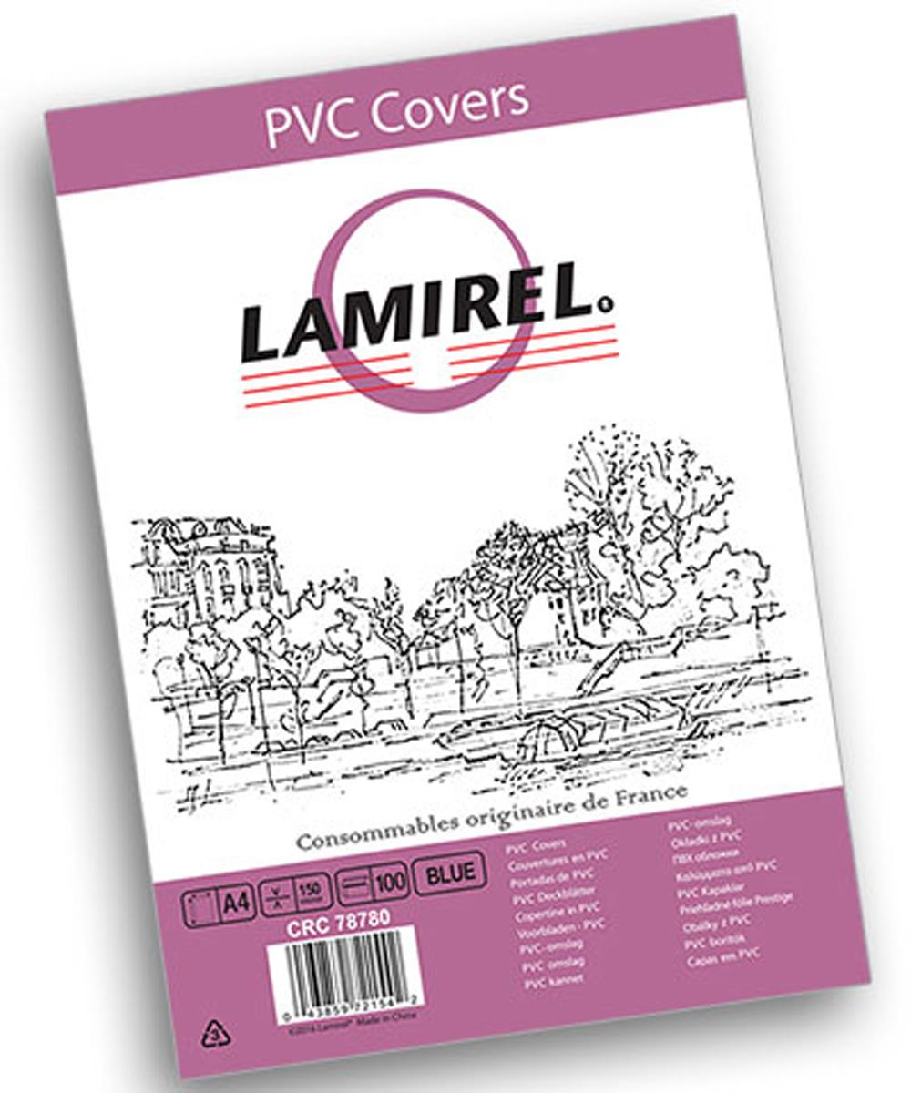 Lamirel LA-78780 Transparent A4, Blue обложка для переплета (100 шт)LA-78780ПВХ обложка Lamirel предназначена для переплета документов формата А4 на пластиковую или металлическую пружину. Обложка изготовлена из ПВХ, что обеспечивает стандартную защиту документа от загрязнений и потертости.Идеально подходит для оформления титульного листа. Прозрачная обложка с тонированием позволяет видеть название брошюры и всю необходимую информацию на первой странице. Различные цвета тонировки помогают визуально различать назначение документа. Это может быть разделение по отделам, сферам применения, месяцу или году создания и т.п.ПВХ обложки Lamirel поставляется в упаковке по 100 шт. с фирменным цветным вкладышем.