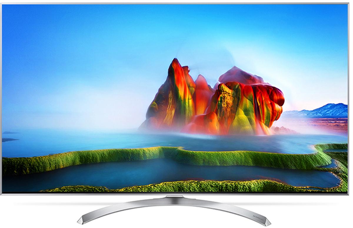 LG 49SJ810V телевизор90000002067Телевизор LG 49SJ810V с технологией Nano Cell - новый стандарт LED TV. Данная технология обеспечивает точные и яркие цвета с широчайшими углами обзора.Технология Nano Cell, благодаря наночастицам, доводит качество передачи цвета до максимума. Испытайте всю силу цвета, переданного с точностью и без искажений.Цвета впечатляют - миллиард насыщенных оттенков. Вас ожидает полное погружение в жизнь на экране, благодаря живому цвету: более миллиарда оттенков создают по-настоящему реалистичную картинку.У зрителей, собравшихся перед телевизором LG 49SJ810V, нет преимуществ друг перед другом, где бы они ни находились. Возможность насладиться насыщенным цветом и высокой контрастностью под любым углом - вот в чем их общее преимущество. Где бы вы ни расположились, удовольствие от просмотра будет гарантировано.Технология Nano Cell улучшает внеосевые характеристики насыщенности цветов и предотвращает их искажение при изменении угла просмотра.Технология Active HDR поддерживает классические форматы HDR10 и HLG и премиальный Dolby Vision. Active HDR - собственная технология LG. Она оптимизирует видеопоток под каждый конкретный эпизод, что делает картинку наиболее яркой и реалистичной.Одного взгляда на металлический корпус с его прямыми линиями и плавными изгибами достаточно, чтобы понять: это не просто телевизор. Его сдержанная элегантность притягивает, даже когда экран выключен.Над встроенной звуковой системой телевизора трудились опытные аудиоинженеры. Благодаря сотрудничеству между LG и компанией harman/kardon теперь можно получить чистый, мощный звук с полным диапазоном частот у себя дома.Современный пульт Magic Remote и обновлённый интерфейс webOS 3.5 создают максимальный комфорт для погружения в новый яркий мир: самое время окунуться в интригующий сюжет.
