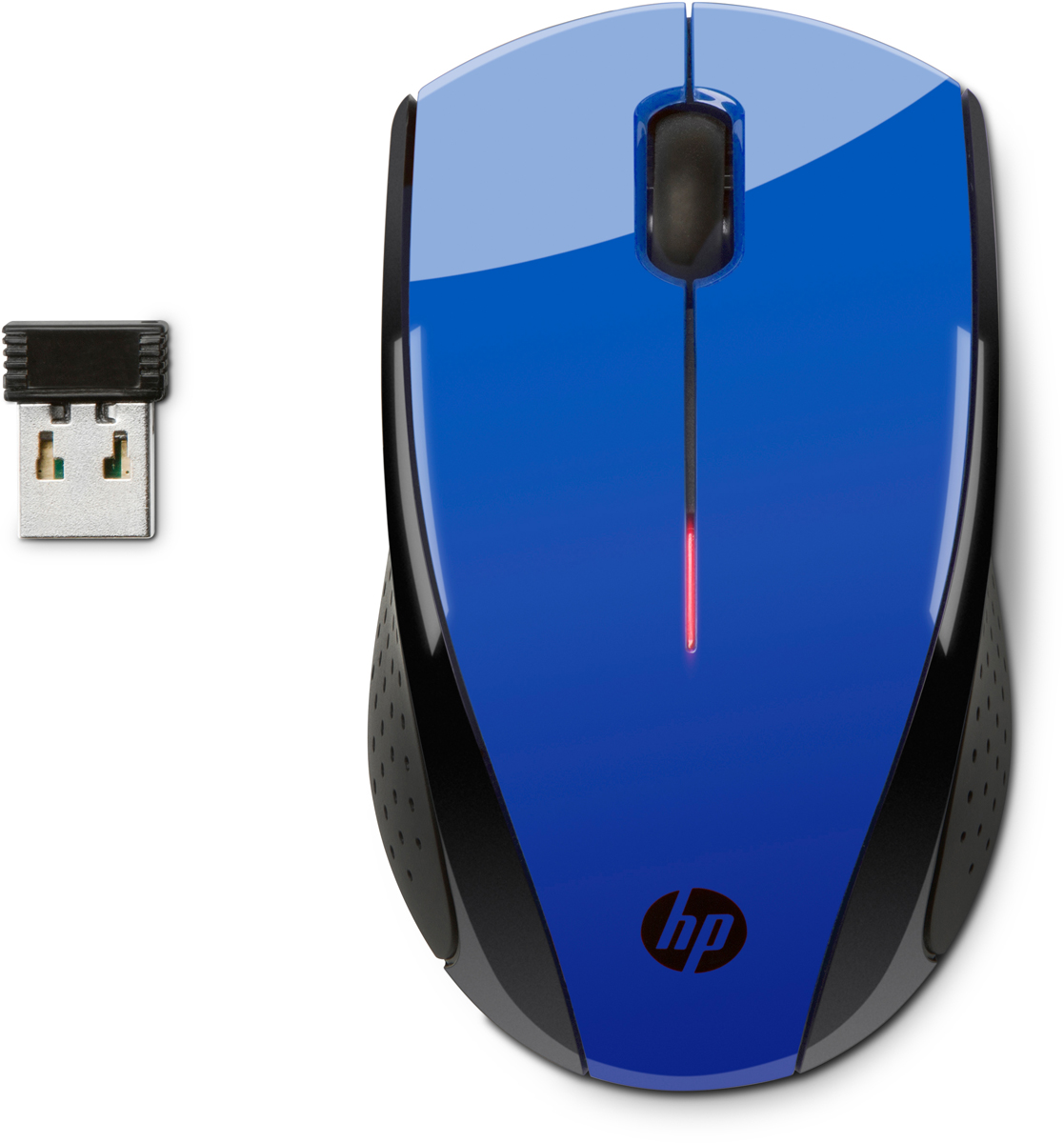 HP X3000, Cobalt Blue мышьn4g63aaЭлегантная и современная мышь HP X3000 немедленно придаст самый стильный вид любому рабочему месту. Глянцевая черная и металлическая серая отделка придает изысканности. Кроме того, изогнутый силуэт создает притягательное впечатление.Беспроводная мышь HP X3000 оснащена всеми новейшими технологиями, которые могут быть вам необходимы. Беспроводное соединение 2,4 ГГц позволит ощутить настоящую свободу. Срок службы батареи до 12 месяцев. Колесо прокрутки позволяет перемещаться по веб-страницам и документам мгновенно. Оптический датчик работает на различных поверхностях.