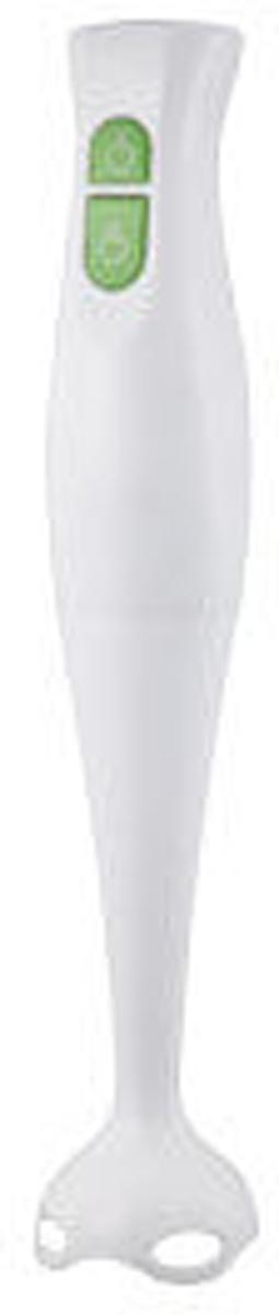 Gelberk GL-512 блендер погружнойGL-512Gelberk GL-512 подходит для измельчения, взбивания, смешивания продуктов.Блендер работает в 2-ух скоростных режимах. Высокая мощность блендера и качество ножей измельчителя из нержавеющей стали предназначены для быстрого и легкого измельчения.Погружной блендер Gelberk будет незаменим, если в доме появился маленький ребенок, он за считанные минуты приготовит пюре из любых овощей и фруктов. Прибор очень удобно использовать, он не занимает лишнего места и подойдет для любой емкости.