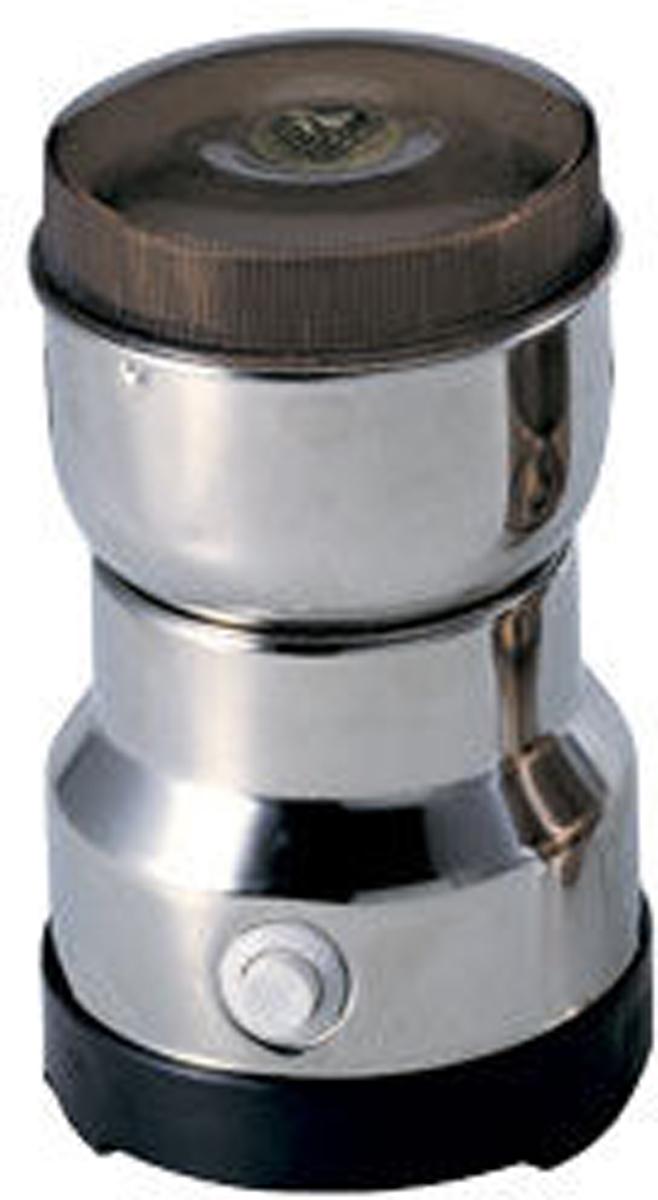 Gelberk GL-531, Silver кофемолкаGL-531Кофемолка Gelberk GL-540 - это прибор, который необходим в каждом доме, ведь он является первым помощником в вопросе измельчения кофейных зерен. С его помощью хозяйки экономят время в процессе готовки ароматного кофе. Легкий, компактный прибор замечательно впишется в любой интерьер помещения.Особенности:Мощность 200 ВтВместимость чаши для кофе 100 гЧаша и ножи из нержавеющей сталиКорпус из нержавеющей сталиИмпульсный режим работы.