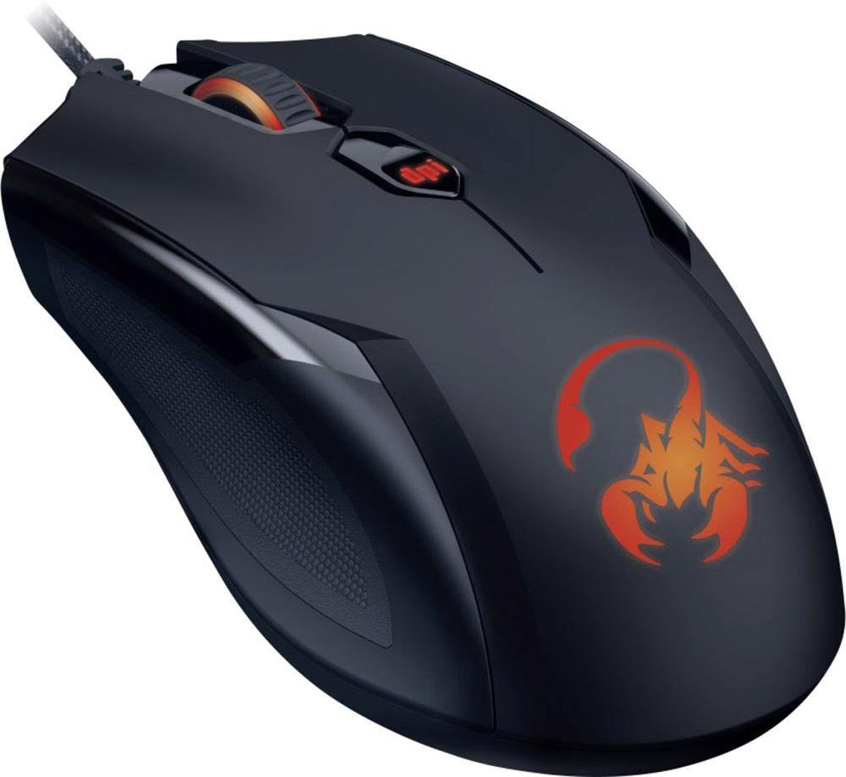 Genius Ammox X1-400, Black мышь игровая genius hs 300a silver