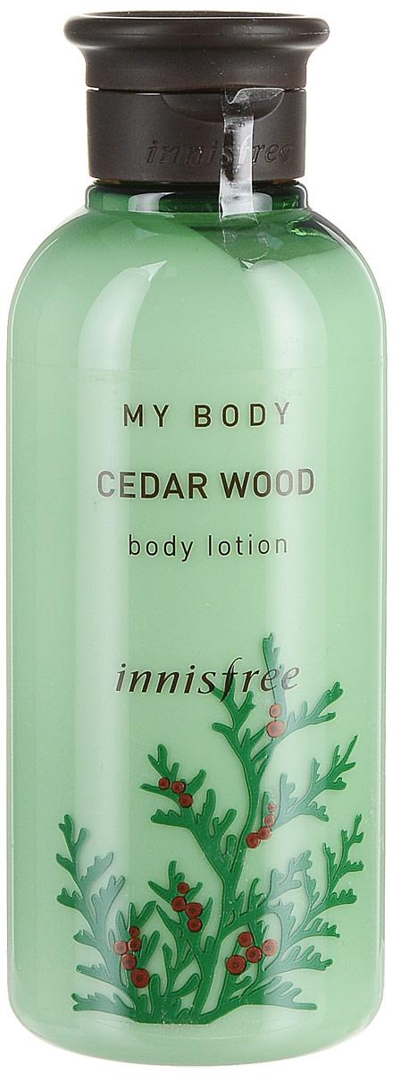 Innisfree Лосьон для тела кедр, 300 мл580811Глубоко увлажняющий лосьон с ароматом кедра наполняет свежестью и энергией. Рекомендован для очень сухой и комбинированной кожи.
