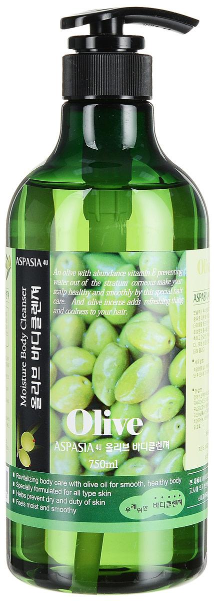 Aspasia увлажняющий гель для душа Оливка, 750 мл562634Олива содержит большое количество витамина Е, оказывающего увлажняющее и омолаживающее воздействие, помогая оздоровить и смягчить раздраженную и сухую кожу. Рекомендовано для очень сухой кожи. Обладает легким ароматом оливы. Содержит экстракт сахарного тростника.